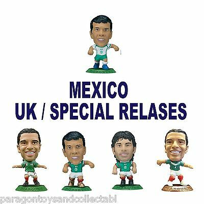 MEXICO National Team MicroStars - UK and Specials choose from 5 figures