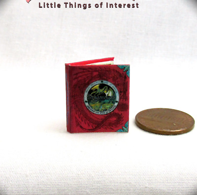 THE COMPLETE BOOK OF DRAGONS Magic Miniature Book 1:12 Scale Potter Magic Wizard