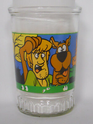 1999 Welch's Bama Scooby-Doo and the Witch's Ghost Jelly Jar Glass #3-Shaggy