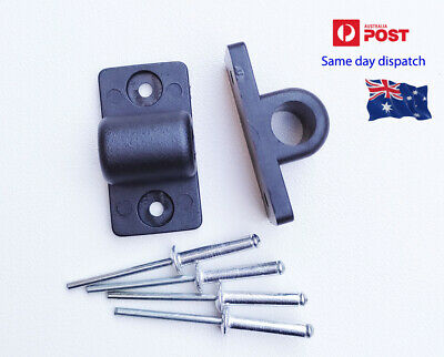 Ute Boat Marine Repairs Tonneau Bar Support Bracket x 2 + 4 pop rivets  AU stock