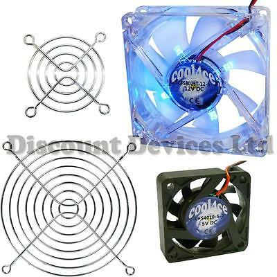 Computer/PC Case Heatsink/Cooling/Cooler/Extractor Fan/Axial Fan; Finger Grill