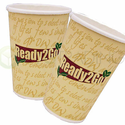 Disposable Paper COFFEE/TEA CUPS Catering Takeaway (7oz,8oz,12oz) Wilco Brand