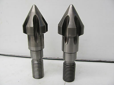 "Lot Of 2 Stainless Steel Rotating Drill Bits 1"" Threaded X 5 1/2""long New(Other)"