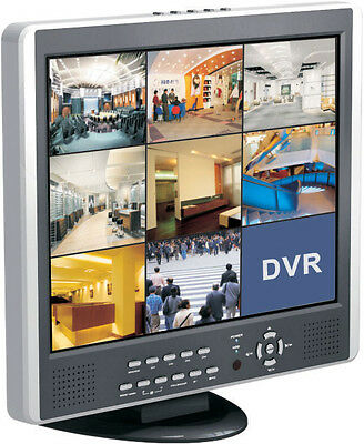 """8CH DVR, 19"""" LCD DVR, Real Time Recording, All-in-one"""