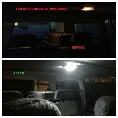 Nissan Patrol GQ GU Interior light LED upgrade kit dome map