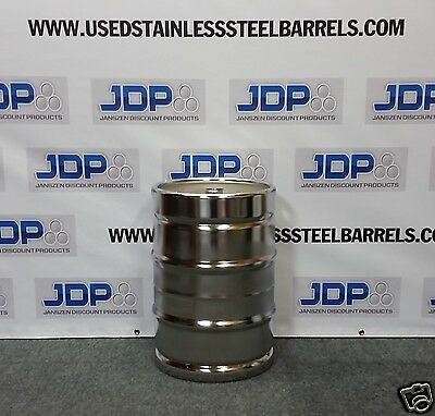Stainless Steel Keg NEW 15.5 gallon without spear  HOMEBREW KEG