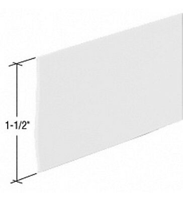 Clear Shower Door Flat Vinyl Sweep - 36""