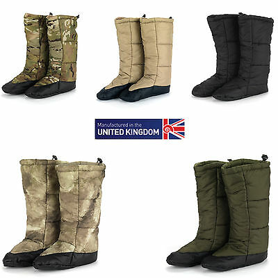 Snugpak Snugfeet Insulated Tent Boots All Colours and Sizes - Fishing Camping