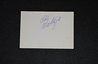 PETER POLACO / ALDO MONTOYA signed Autogramm10x15 In Person WWF
