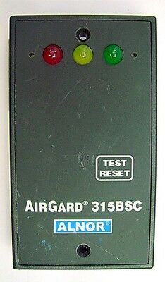 Alnor TSI AirGard 315 BSC Bio-Safety Cabinet Air Flow Monitor, 315BSC
