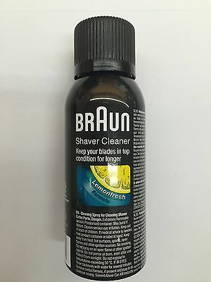 Braun Shaver Spray, Cleaner For Foils And Cutters, Braun Philips Remington 100Ml