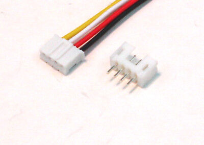 JST 2.0mm PH 4-Pin Connector with Wire x 10 Sets