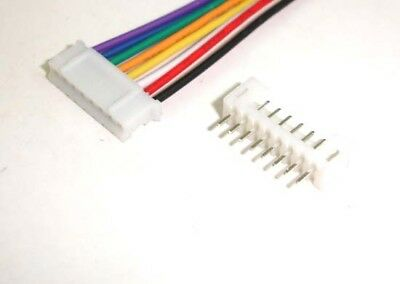JST 2.0mm PH 8-Pin Connector with Wire x 10 Sets