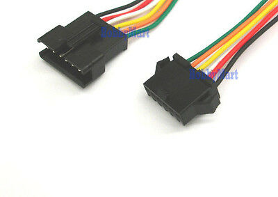 2.5mm SM 6-Pin Male Female Connector plug with Wire x 10 Sets
