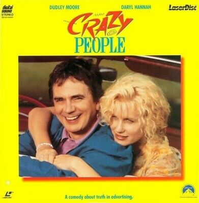 Crazy People Cc Clv Ntsc Laserdisc Dudley Moore - Daryl Hannah