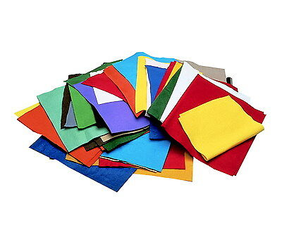 Chenille Kraft Craft Remnant Felt, 9 X 12 Inches, Assorted Color, 1 Pound