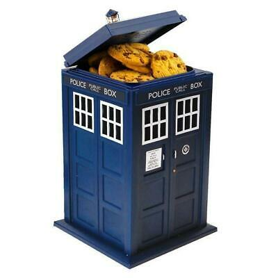 Doctor Who Tardis Light and Sound Cookie Jar