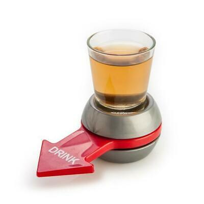 Spin The Shot Drinking Game Shot Glass Spinner