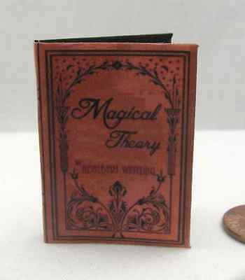 MAGICAL THEORY Magical Textbook 1:6 Scale Readable Miniature Book HARRY POTTER