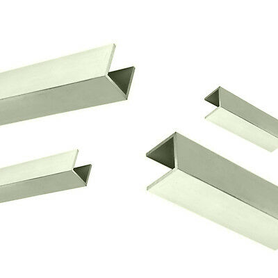 "1x Metre 1"" x 1"" x 1/16"" Aluminium Channel U Channel Aluminium U Section"