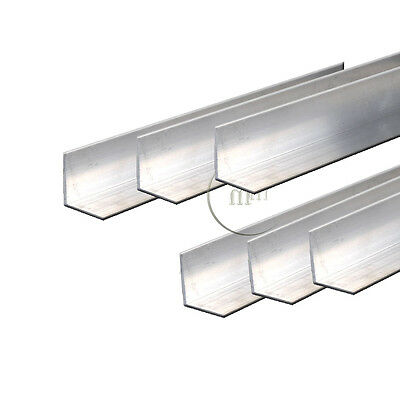 1 x Metre Aluminium Angle MILLING WELDING METALWORKING Equal Angle Choose a Size