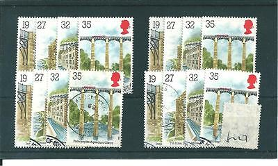 Industrial Archaeology - 1989 - F127 - Four Sets - Fine  Used