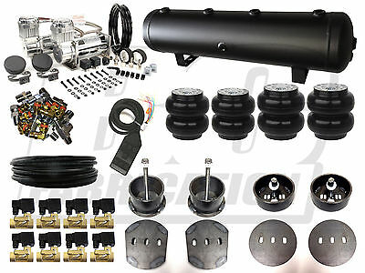 """Air Ride Suspension Kit - 1965 - 1972 Mercedes W108 3/8"""" Electric Airbag System"""