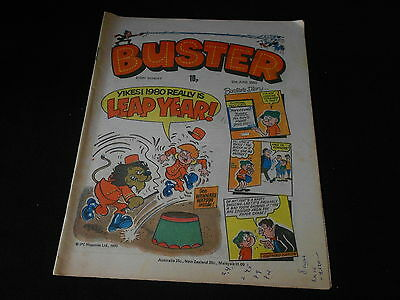 Buster Comic 21st June 1980