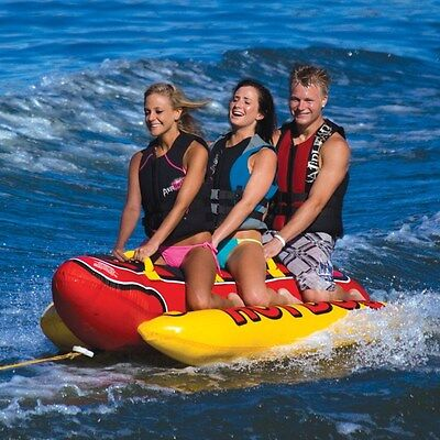 Sportsstuff HOT DOG 3 Person Inflatable Towable - HD-3