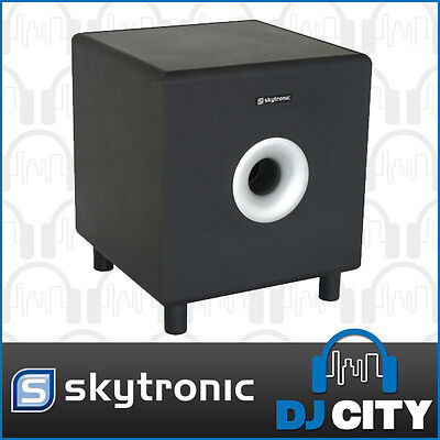 Home HiFi 8-Inch 200 Watt Active Home Theatre Subwoofer Hi Fi Speaker