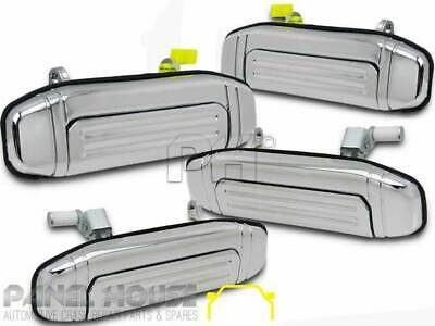 Mitsubishi Pajero NH NJ NK 91-98 Set x4 CHROME Outer Front&Rear Door Handle NEW