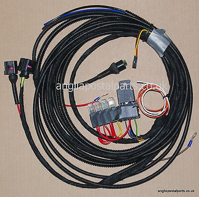 WEBASTO THERMO TOP V 12V HARNESS or LOOM 1533 1531 plug pre fitted.FREEPOST