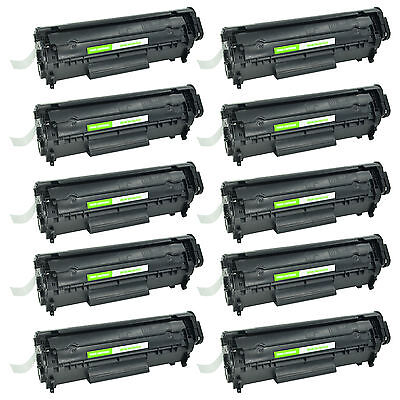 10 PK HP Q2612A 12A Toner Cartridge For LaserJet 1020 1010 1012 1018 1022 1022nw