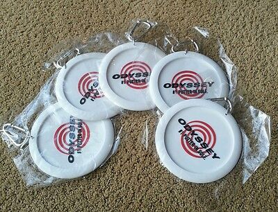 ODYSSEY GOLF Bag Tag Practice Putting Cup