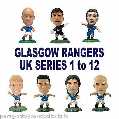 GLASGOW RANGERS MicroStars UK Series 1 to 12 choose from 15 different figures