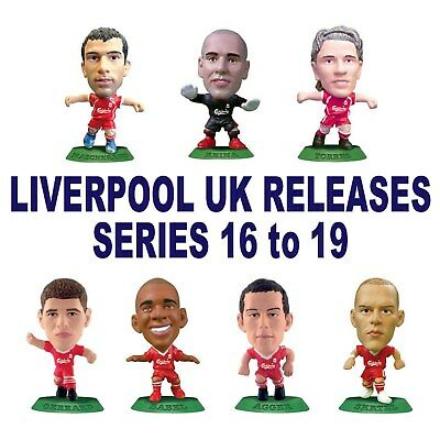 LIVERPOOL MicroStars - UK Series 16, 17, 18, 19 choose from 21 different figures