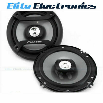 """Pioneer Ts-F1634R 6.5"""" 200W Max F-Series 2-Way Car Audio Stereo Coaxial Speakers"""