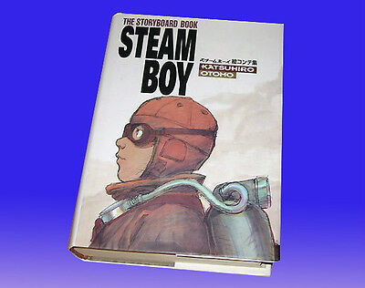 STEAM BOY Storyboards ART Book KATSUHIRO OTOMO Japan steampunk Anime Akira