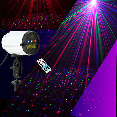 SUNY Outdoor Waterproof Laser Projector Dots Light Show Xmas Yard RGB Full Color