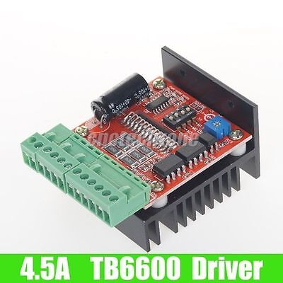 CNC Single Axis TB6600 Stepper Motor Driver Board 4.5A for 2-phase Stepper Motor