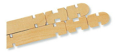 Chenille Kraft Notched Action Stick for Building, 4-1/2 Inches, Pack of 1000