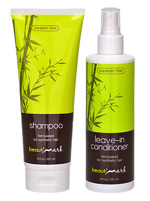 BeautiMark Synthetic Hair Shampoo & Conditioner - Wig / Hair Extension