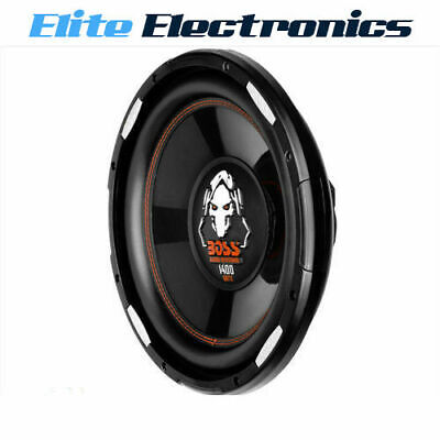 "Boss Audio P120F 12"" 1400W Svc Slim Low Profile Shallow Mount Subwoofer Car Sub"