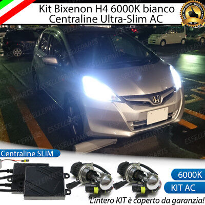 Kit Xenon Bixenon Bixeno Xeno H4 6000 K 35W Specifico Honda Jazz Mk2 No Error