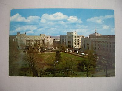 VINTAGE PHOTO POSTCARD POST OFFICE ON RODNEY SQUARE IN WILMINGTON, DELAWARE