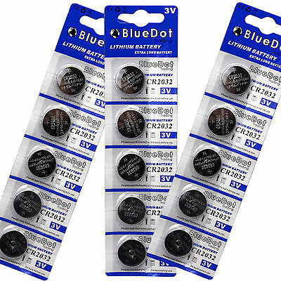 Cell Watch Battery 15 PACK ~ 2032 Lithium 3v CR2032 DL2032 USA SHIP Fresh Date