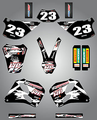 Custom Graphics, full Kit for KTM SX/EXC 1993 - 1997 - SAFARI STYLE - stickers