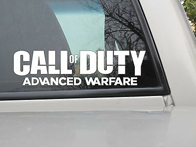Call of Duty Advanced Warfare Sticker COD AW Vinyl Decal You Choose Size/Color