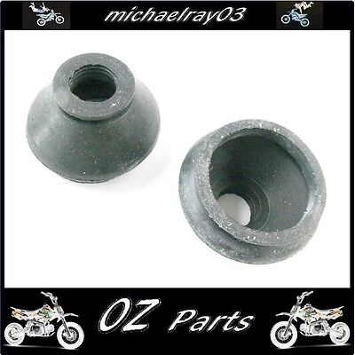 2 x large  ball joint tie rod end rubbers 50 125 cc 150 200 250 mini quad  ATV