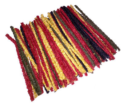 "Pipe Cleaners Craft Stems Coloured Assorted Mixed Colours 6"" Buy 1 + Get 1 Free"